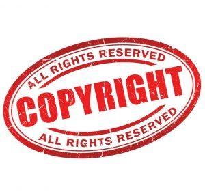 10856804 - copyright grunge symbol